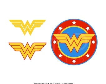 Wonder Woman SVG, Superhero svg, Wonder Woman sign, Wonder Woman logo, cricut silhouette cutting file, dxf, eps, png, download, svg files