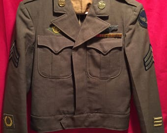 WW2 U.S Army Air Corps Tailor Modified Uniform