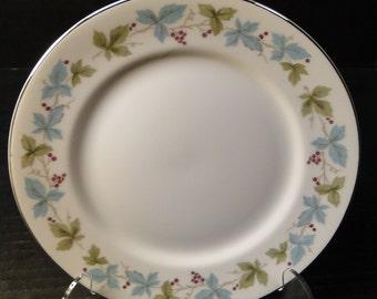 """Fine China of Japan Vintage Salad Plate 7 3/4"""" 6701 EXCELLENT!"""