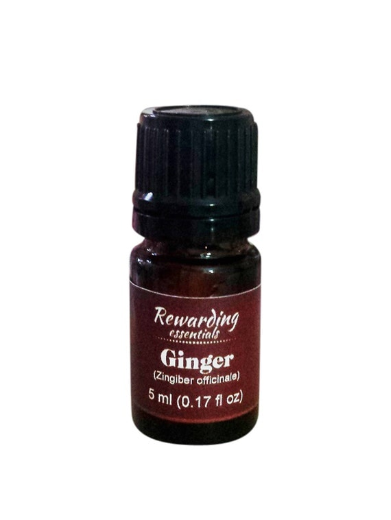 Ginger Essential Oil 100% Pure Natural Therapeutic Grade by Rewarding Essentials US Seller