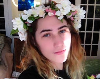 Spring Blossoms Faerie Crown