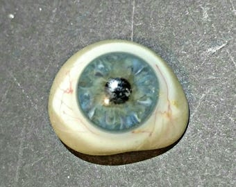 SUMMER SALE Vintage Prosthetic Glass Eye