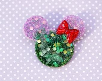 Mermaid Mickey Brooch - Ariel Disneybound Brooch
