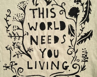This World Needs You Living patch