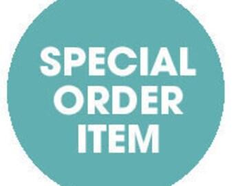 Special Order, Order Rework