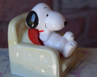 SNOOPY PEANUTS STATUE 1960s Charles Schulz