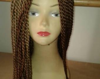2 tones Senegalese Twists wig
