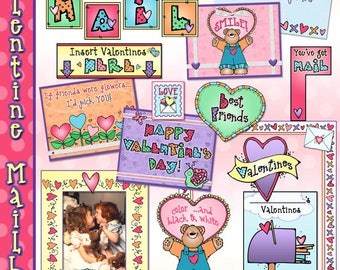 Valentine Mailbox Printable Activity Download