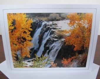 Photo Greeting Card   Handmade Card   Photo Note Card   Original Photography   White River Falls