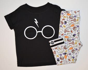 Harry Potter Glasses - Infant Raglan, Infant Shirt, Toddler Raglan, Toddler Shirt