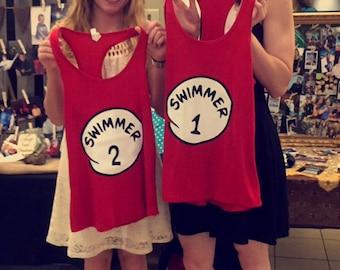 Swimmer 1, Swimmer 2