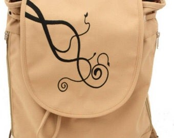 Parkgate Backpack in Tan with Comfort padded straps