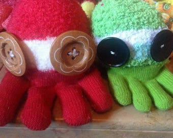 Customized Socktopus!