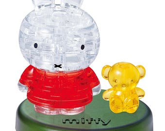 Miffy and Yellow Bear Crystal Puzzle - Jigsaw