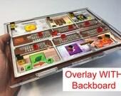 Terraforming Mars Player Mat Overlay WITH Backboard