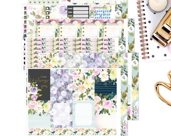 Love Is In The Air  || Weekly Planner Sticker Kit|| for Erin Condren Vertical Layout