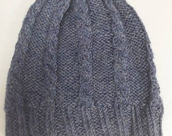Cabled beanie- Adult