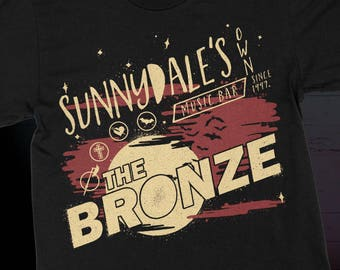 Buffy the Vampire Slayer Sunnydale Night Club T-Shirt - The Bronze