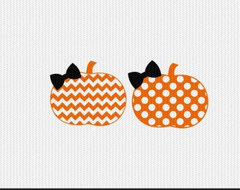 chevron pumpkin polka dot pattern svg dxf file instant download stencil silhouette cameo cricut clip art commercial use
