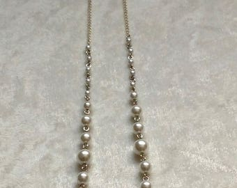 Angel Wings and Pearl Lariat