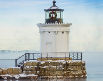 PRINT: Bug Light with Sea Smoke