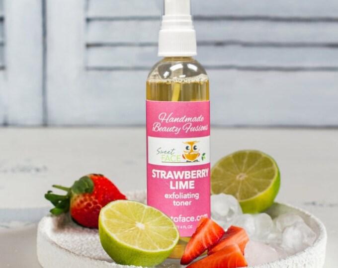 Exfoliating Strawberry Lime  Toner Mist