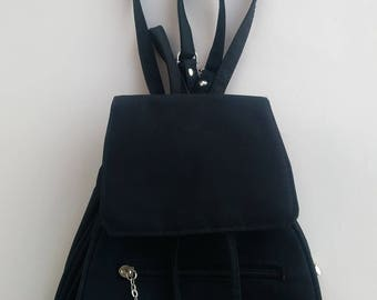 Black Backpack,Small backpack,Shoulder Bag,Backpack purse,backpack purse,Coachella Fashion,Festival fashion,Rucksack,Mini Backpack Purse