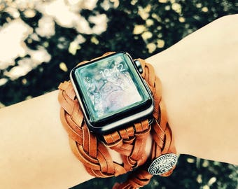Apple Watch Band, Series 3 Apple Watch, Series 2 Apple Watch, Leather Apple Watch Band, iWatch Band, Apple Watch Accessories, iWatch