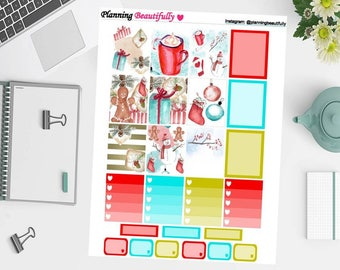 Printable Planner Stickers, Printable Stickers, Printable Chistmas Stickers, Erin Condren Planner Stickers, Christmas Stickers, Stickers