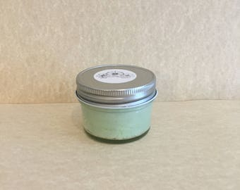 Mint: Scented Exfoliating Sugar Scrub (4 oz.)