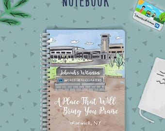 Scripture Notebook | JW Notebook | Jw Baptism | Jehovah's Witnesses | JW Gifts | JW Printables | Theocratic Notebook