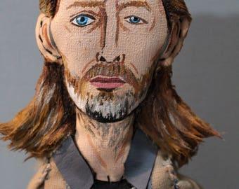 Thom Yorke / Art Doll, Figura, Artist Doll, Musician Doll