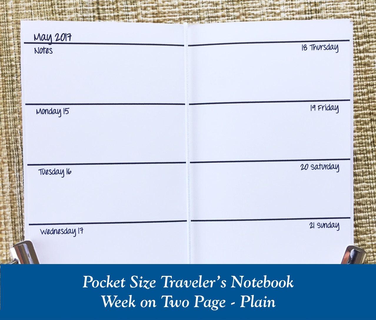 Pocket Size Traveler S Notebook Dimensions