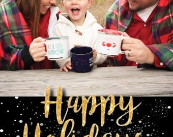DIGITAL* Christmas Holiday Photo Card