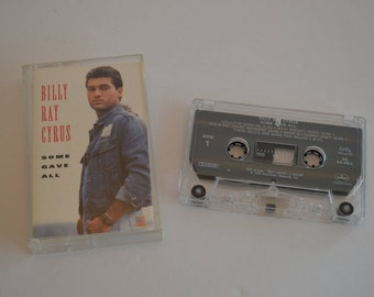 1992 Billy Ray Cyrus Some Gave All Cassette Tape