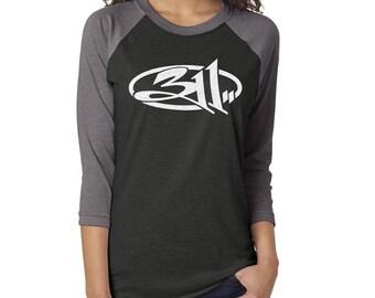 311 Glitter Baseball Shirt| Concert Shirt