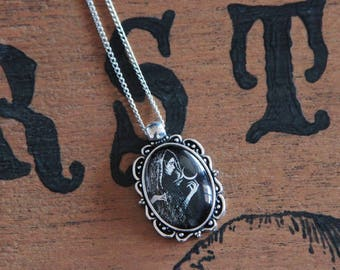 Arcane XVIII silver necklace