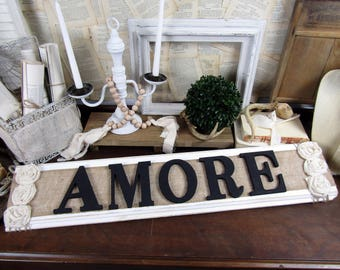Amore Italian Wall Decor Rustic Wood Thatu0027s Amore Sign Couples Love Italian  Wedding Decor Wooden Bedroom