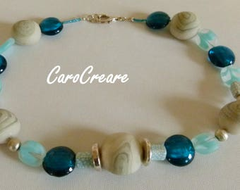 Striking Necklace in Turquoise