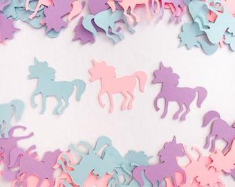 Unicorn Confetti / Unicorn Decoration / Unicorn Party / Personalized Unicorn Confetti