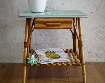 Vintage - occasional table - end table side table - children's furniture