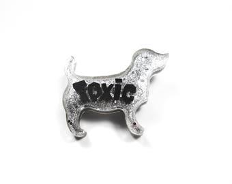 Brooch Toxic naimal puppy dog