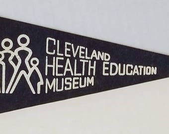 Cleveland Health Education Museum - Vintage Pennant