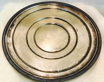 Vintage EPNS Poole Silver Platter