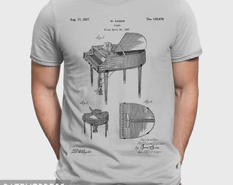 Piano Player T-Shirt Gift For Pianist, Piano Player Gift Idea For Piano Teacher, Piano Player Shirt, Musician Gift For Music Teacher P229