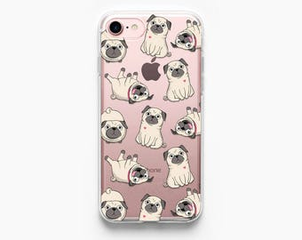 iPhone 7 Case Pug iPhone 6 Case iPhone 7 Plus Case iPhone 6 Plus Case iPhone 6s Case iPhone 5s Case iPhone 6s Plus Case Dog Dogs Doggy Cute