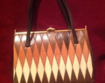 1950s / 60s Ladies Vintage Handbag / Purse
