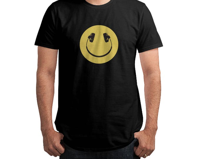 Smiley Music DJ T-Shirt