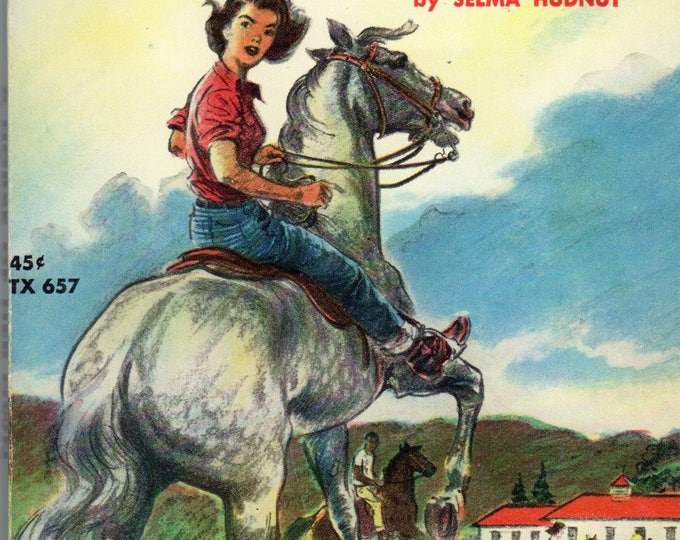 A Horse of Her Own by Selma Hudnut SC Book 1964 Scholastic