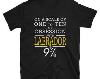 Humorous T-Shirt for Labrador Owner - A Labrador Lover Shirt